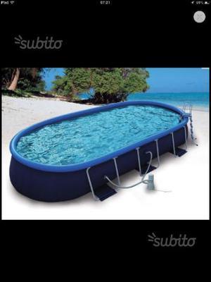 Vendo piscina fuoriterra completa posot class for Piscina fuori terra 3x2