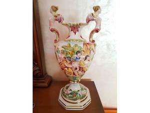 Vaso Capodimonte porcellana anni 50
