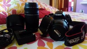 Canon d +obiettivo canon  + canon