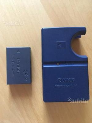 Caricatore CANON CB-2LSE + batteria