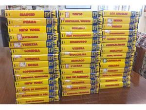 """Collezione completa in VHS di """"CITTA' DEL MONDO"""""""