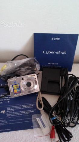 Fotocamera digitale SONY CYBER_SHOT DSC_W35/W55
