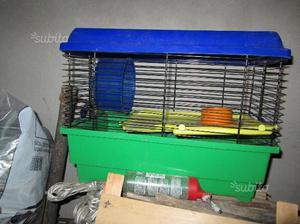 Gabbia per criceto e piccoli roditori