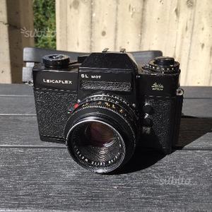 Leica Leicaflex SL Mot Black con Summicron R 50 f2