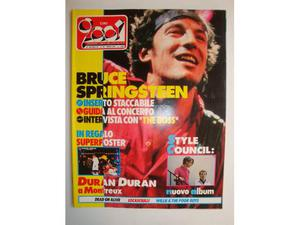 Musica CIAO  Anno  n.25 bruce springsteen-Duran