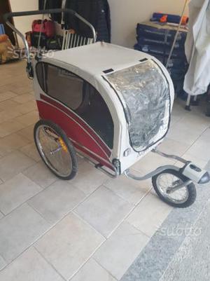 Passeggino trasporto cani