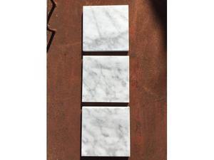 Piastrelle in marmo bianco Carrara LEVIGATO
