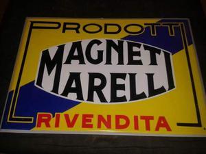 Pubblicita' d'epoca anni '20 magneti marelli