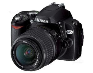 Reflex digitale Nikon D40X