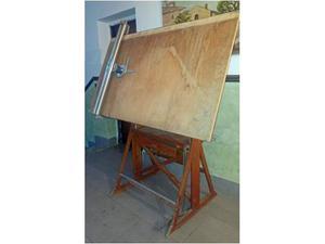 Tecnigrafo antico in legno (anni )