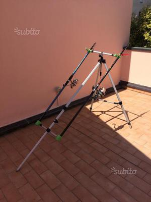 Coppia canne surf casting