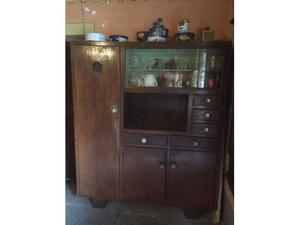 Credenza anni 40 in rovere e smalti mobili vintage | Posot Class