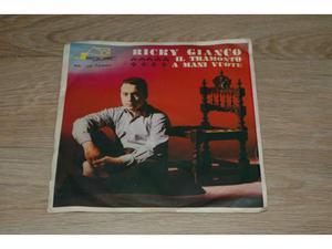 Disco in vinile 45giri di Ricky Gianco
