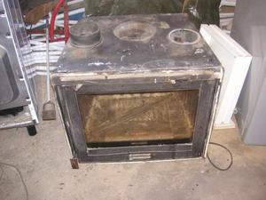 Offro caldaia camino termocamino inserto posot class for Caldaia a legna usata vendo
