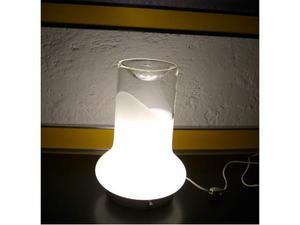 LAMPADA da TAVOLO in vetro originale Anni 70