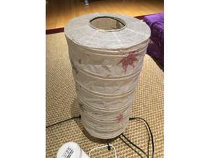 Lampada giapponese originale in carta di riso
