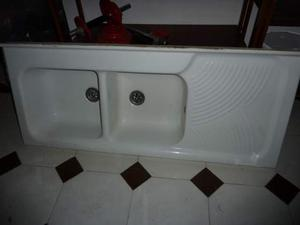 Lavello a 2 vasche in ceramica