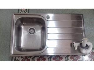 Lavello da incasso inox franke 86x50 buca posot class - Lavello cucina incasso ...
