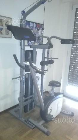Panca fitness + cyclette