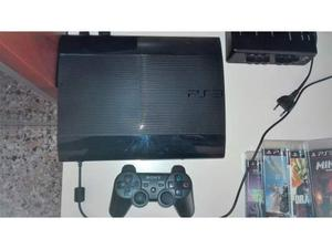 Play station 3 hard disk 500gb con 4 giochi