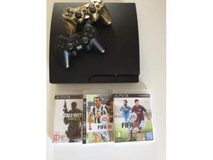 Playstation GB Slim Ps3 +5 joipad + 3 giochi