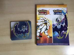 Pokemon luna limited edition e guida strategica 3ds