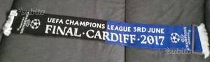 Sciarpa Juve Real Cardiff