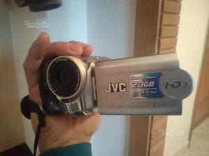 Videocamera Jvc con memoria interna HDD 20 GB