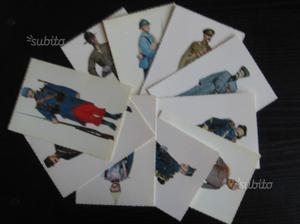10 cartoline del Musée de l'Armé con uniformi di v