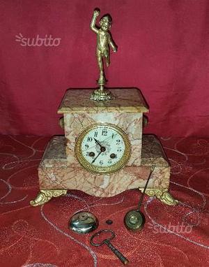 Antico Orologio a pendolo parigina Napoleone III
