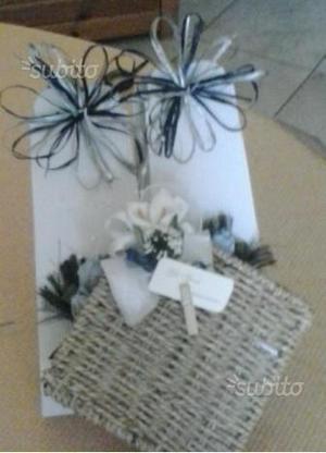 Bomboniere, sacchetti, scatoline, decorazioni,ecc