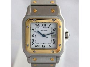 Cartier Santos Automatico Acciaio e Oro
