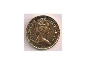 Dc rec elizabet ii calato in oro 24 kt frix  bin lire