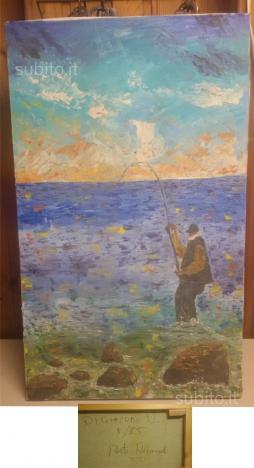 Dipinto olio su tela firmato e datato