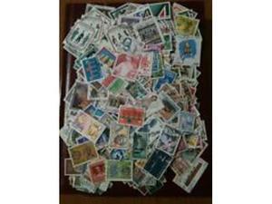 Francobolli commemorativi italiani usati in euro