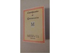 Garanzia orologio monvis (vintage)