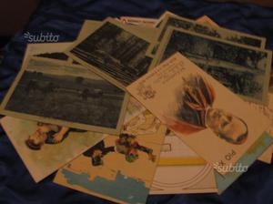 Lotto 18 Cartoline soggetti vari, epoca