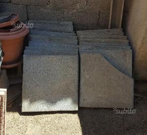 Piastrelle mattonelle cemento giardino esterno posot class for Mattonelle da esterno in cemento