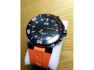 Oris Aquis Date Automatico Arancio/nero