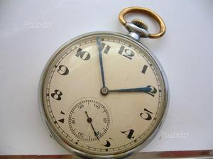 Orologio da tasca ZENITH del ca. cassa acciaio