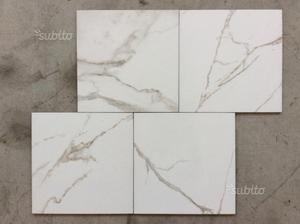 Regalo piastrelle in marmo bianco posot class for Piastrelle 40x40 da interno