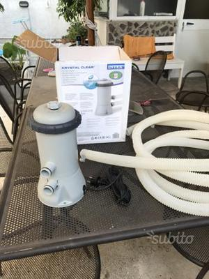 Pompa ricircolo e filtraggio acqua piscina posot class for Piscina montabile