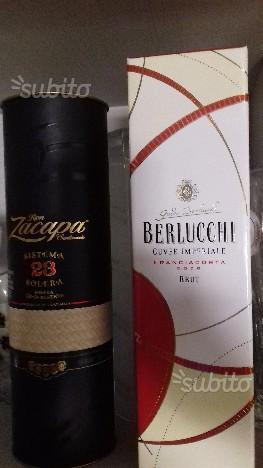 Rum zacapa piu BERLUCCHI