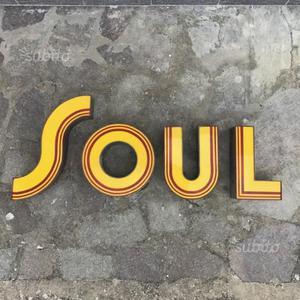 Scritta soul vecchie lettere