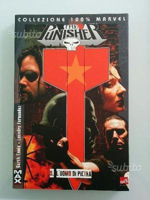 The Punisher 100% MARVEL MAX - L?Uomo di Pietra -