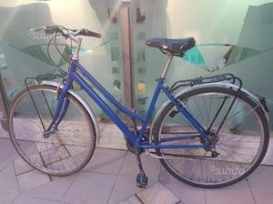 Bici Donna Blu da 28 - Cambio Shimano