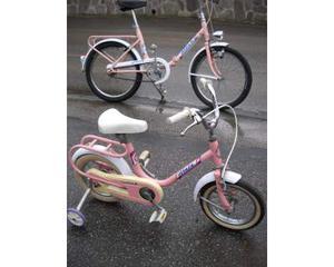Bici bambina Atala rosa rotelle