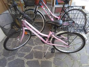 "Bicicletta bambina ruote 24"""