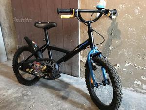 Bicicletta bimbo 5/6 anni ruote 16 pari al nuovo