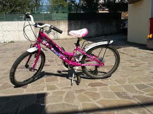 """Bicicletta da bambina ruote da 20"""""""